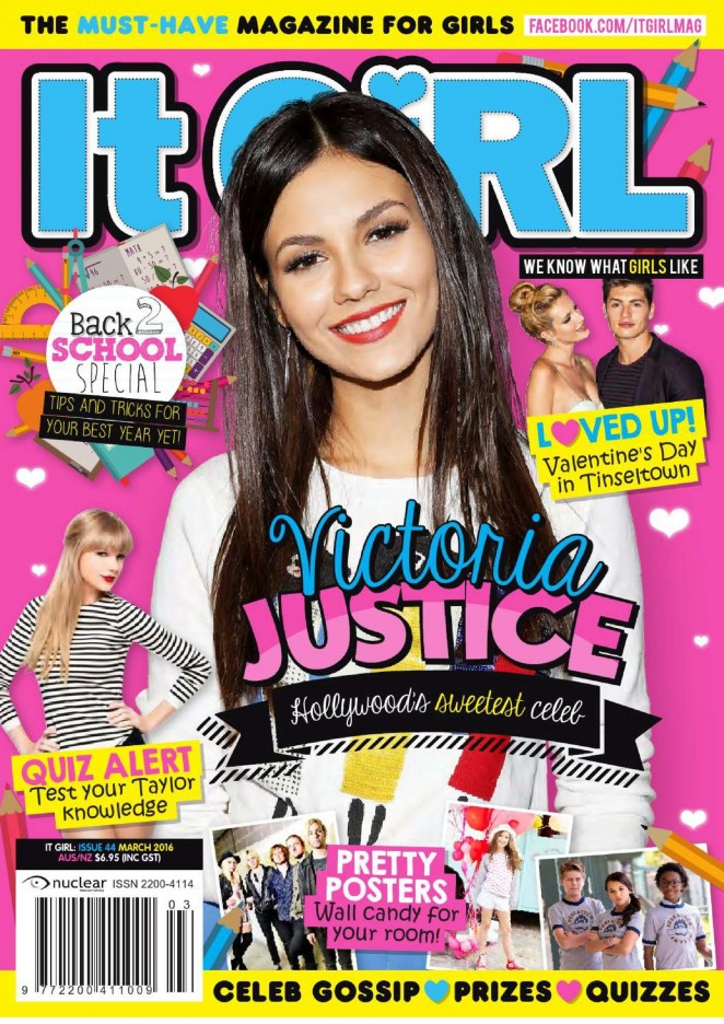 Victoria Justice: It GiRL Magazine 2016 -01