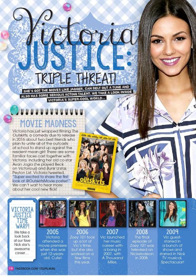 Victoria Justice: It GiRL Magazine 2016 -02