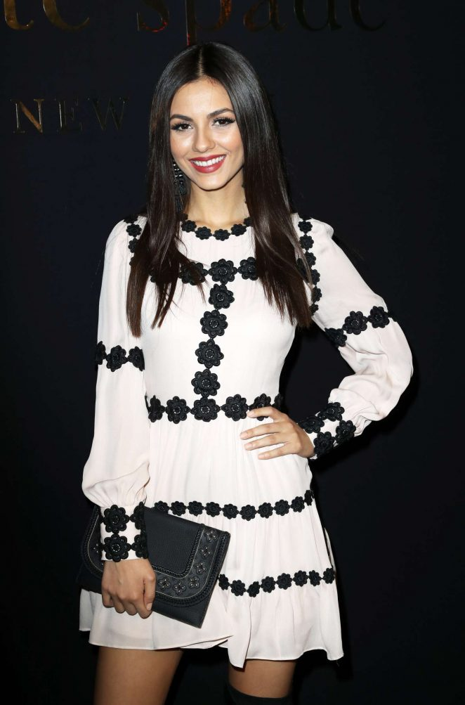 Victoria Justice - Kate Spade Presentation at 2017 NYFW in New York