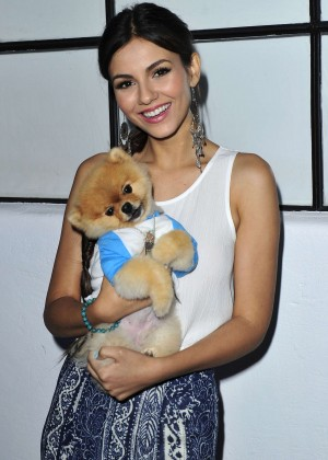 Victoria Justice - Kelly Slater for PBteen Launch Event in Santa Monica
