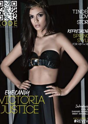 Victoria Justice - Kode Magazine Cover (Spring 2015)