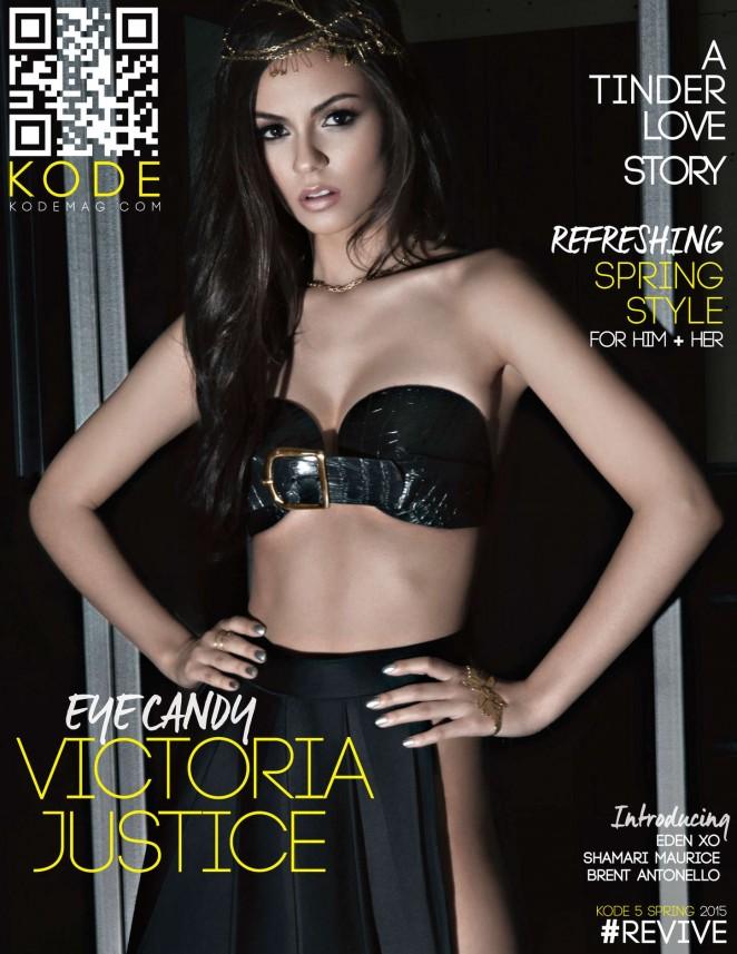 Victoria Justice – Kode Magazine Cover (Spring 2015)