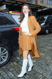 Victoria Justice - Leaves the Alice+Olivia Fashion Show in New York City