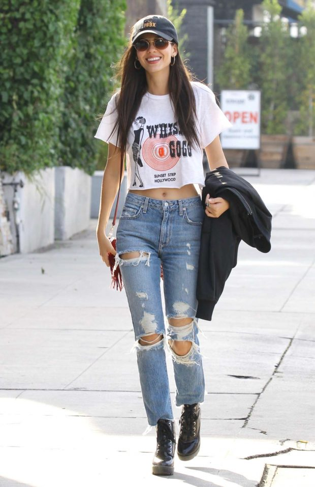 Victoria Justice: Leaving a day spa in Studio City -05