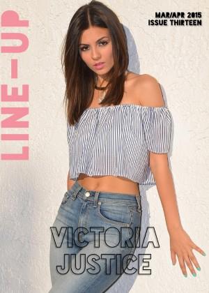 Victoria Justice - Line-Up Magazine (March/April 2015)