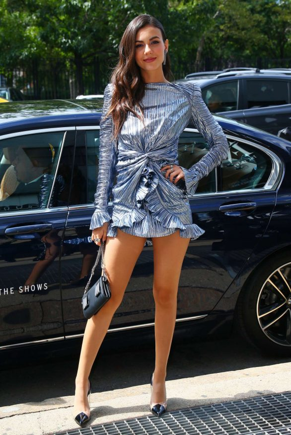 Victoria Justice - New York Fashion Week 2019