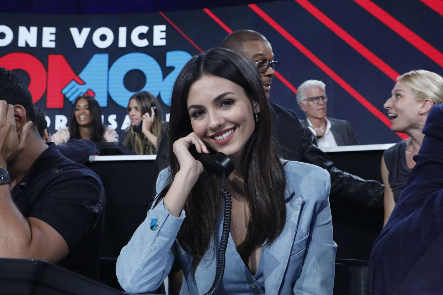 Victoria Justice - 'One Voice: Somos Live! A Concert For Disaster Relief' in LA