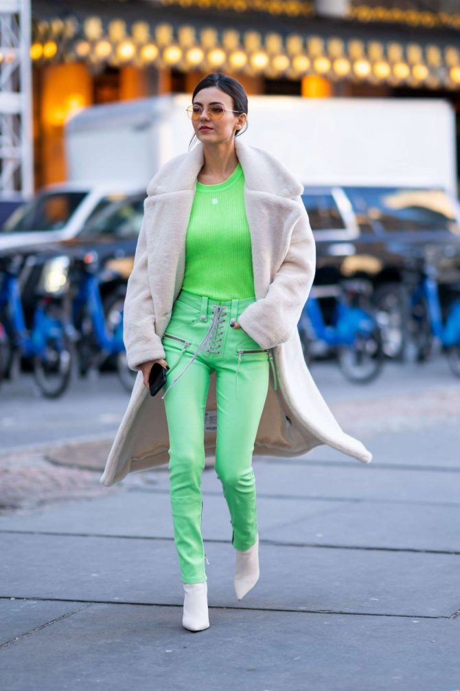 Victoria Justice 2019 : Victoria Justice: Out and about in NYC -09