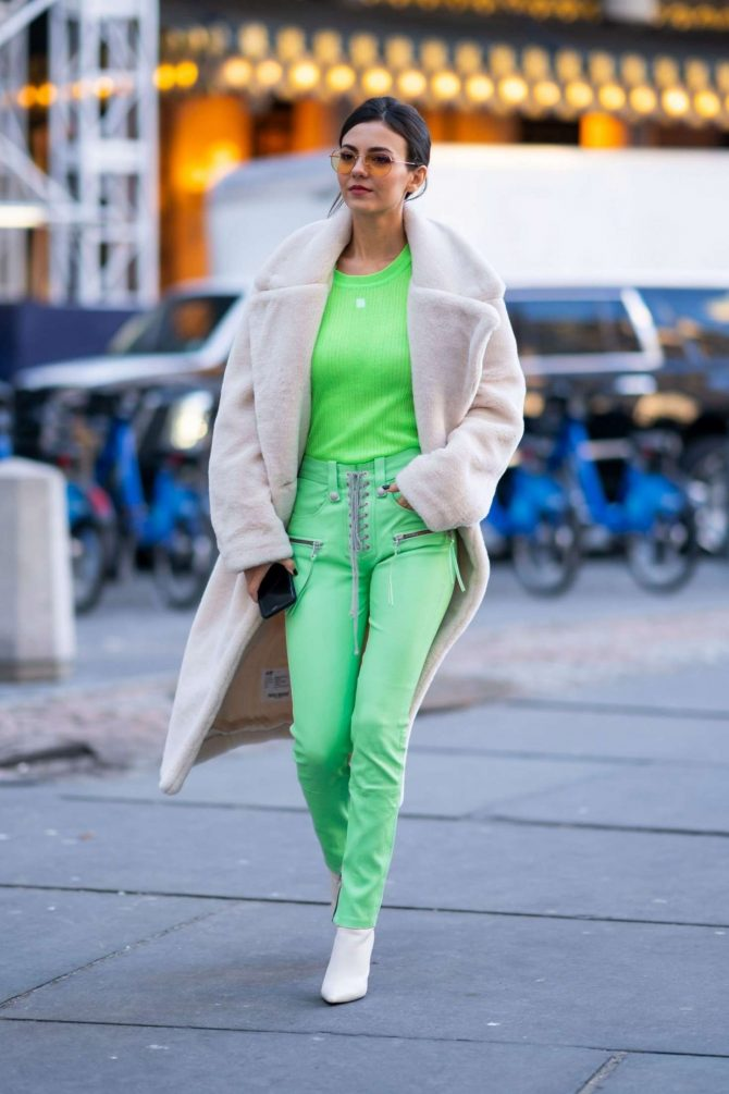 Victoria Justice 2019 : Victoria Justice: Out and about in NYC -10
