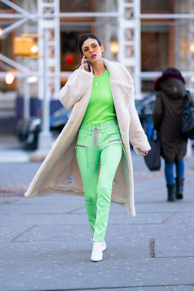 Victoria Justice 2019 : Victoria Justice: Out and about in NYC -12