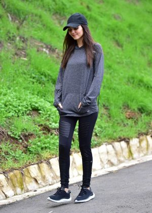 Victoria Justice - Out Hiking in Los Angeles