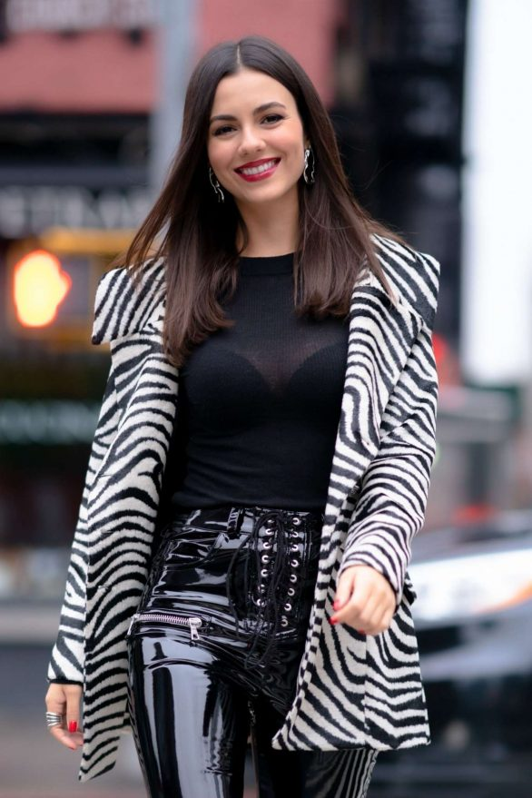 Victoria Justice - Out in Tribeca