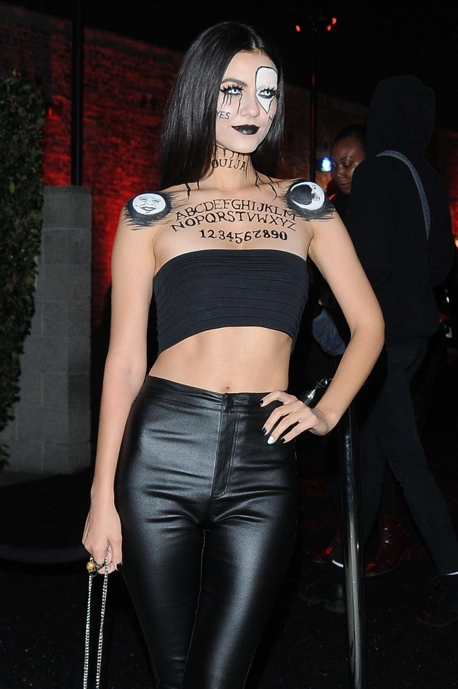 Victoria Justice - Outside Just Jared's 7th Annual Halloween Party in LA