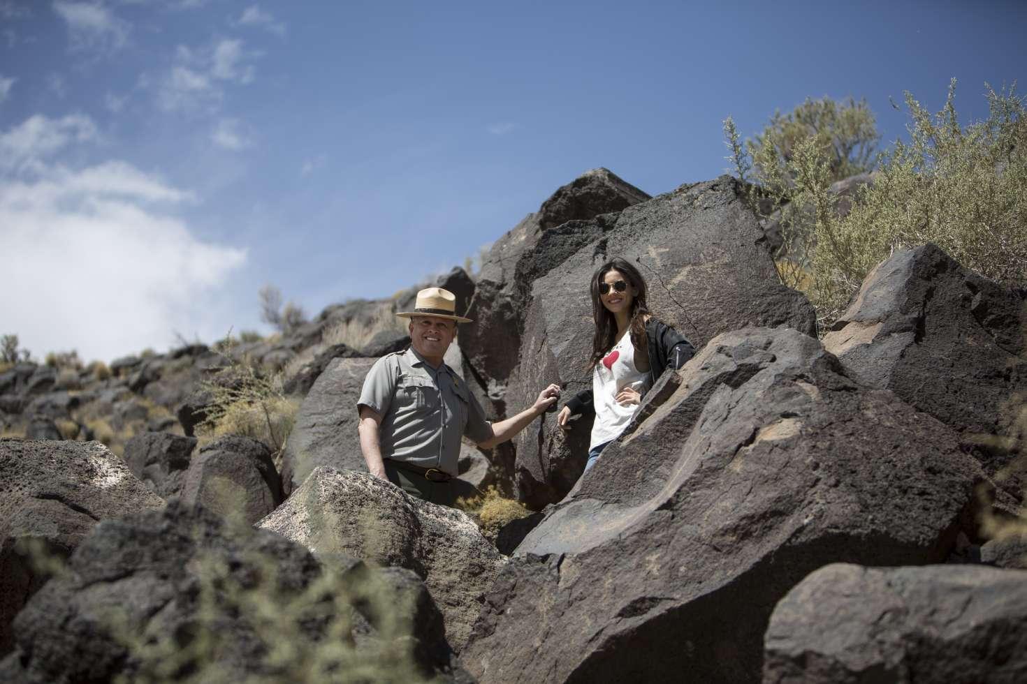 Victoria Justice: Petroglyph National Monument -29   GotCeleb