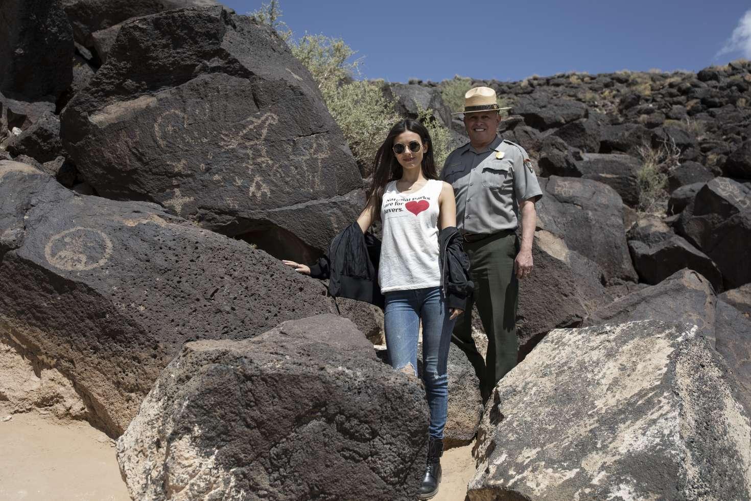 Victoria Justice: Petroglyph National Monument -28   GotCeleb
