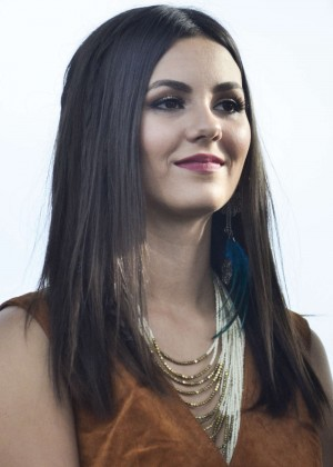 Victoria Justice - Rally For Moral Action On Climate Justice