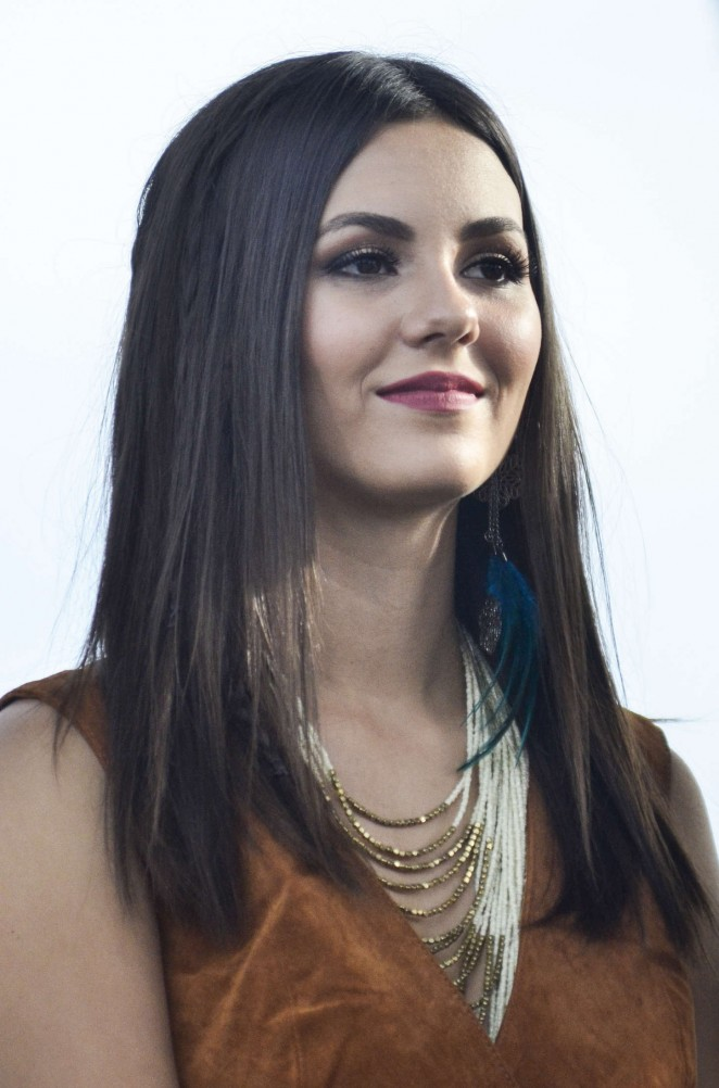 Victoria Justice – Rally For Moral Action On Climate Justice