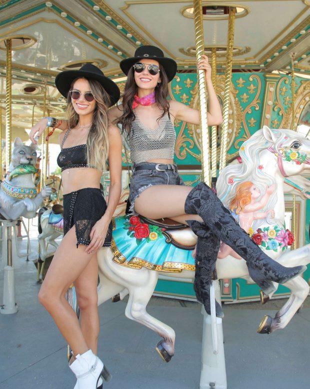 Victoria Justice 2019 : Victoria Justice: Revolve Party at Coachella -11