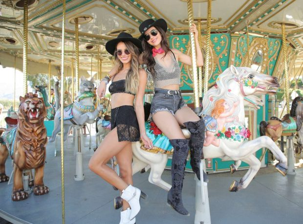 Victoria Justice: Revolve Party at Coachella -18