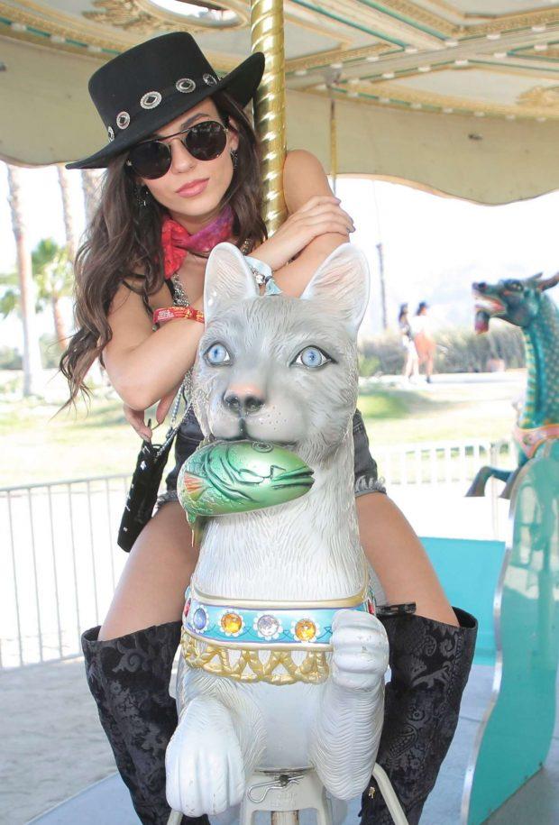 Victoria Justice 2019 : Victoria Justice: Revolve Party at Coachella -26