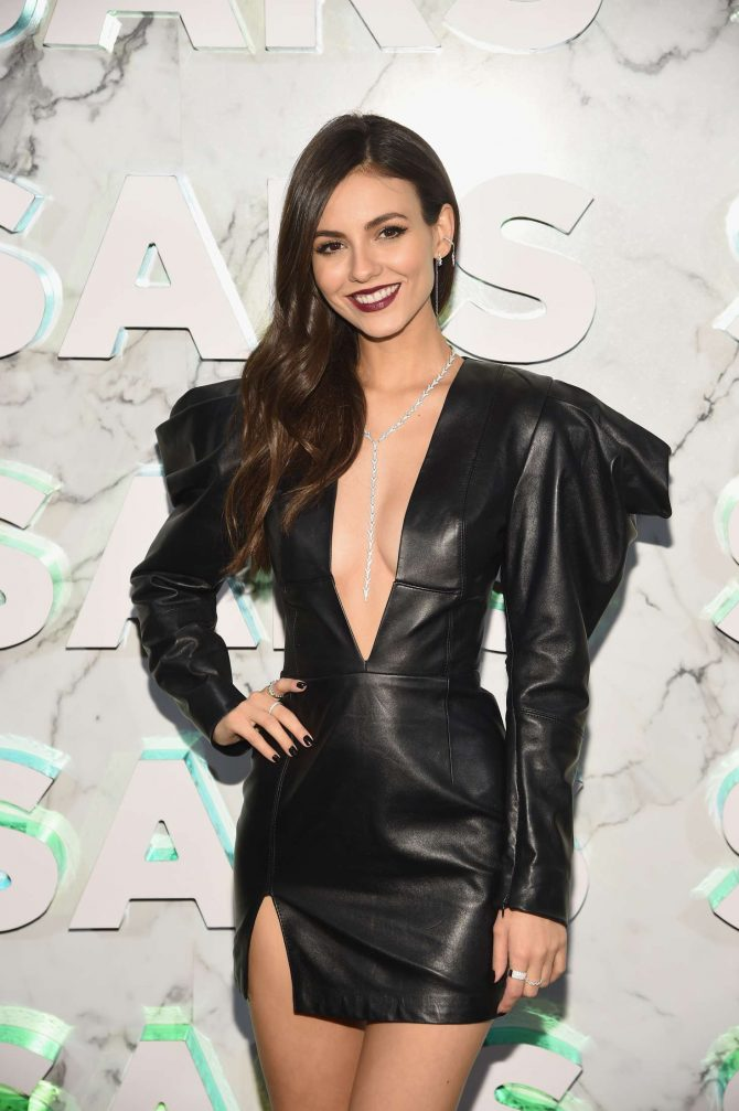 Victoria Justice - Saks Celebrates New Main Floor in NYC