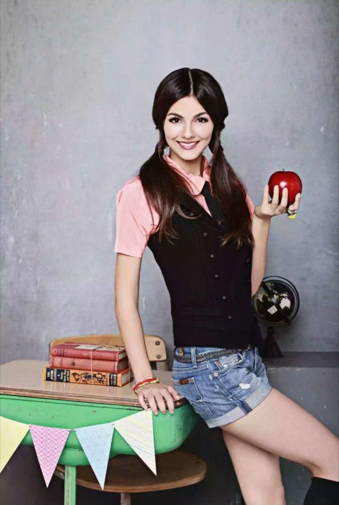 Victoria Justice - Schoolgirl Photoshoot 2012
