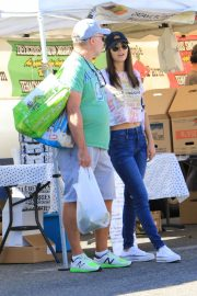 Victoria Justice - Seen at a farmer's market in Los Angeles