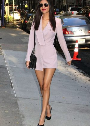 Victoria Justice - Seen at The Chew In New York