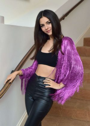 Victoria Justice - Spring 2019 Box of Style by Rachel Zoe Dinner in Beverly Hills