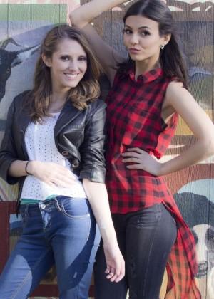 Victoria Justice - Teen Vogue Besties Photohoot (November 2015)