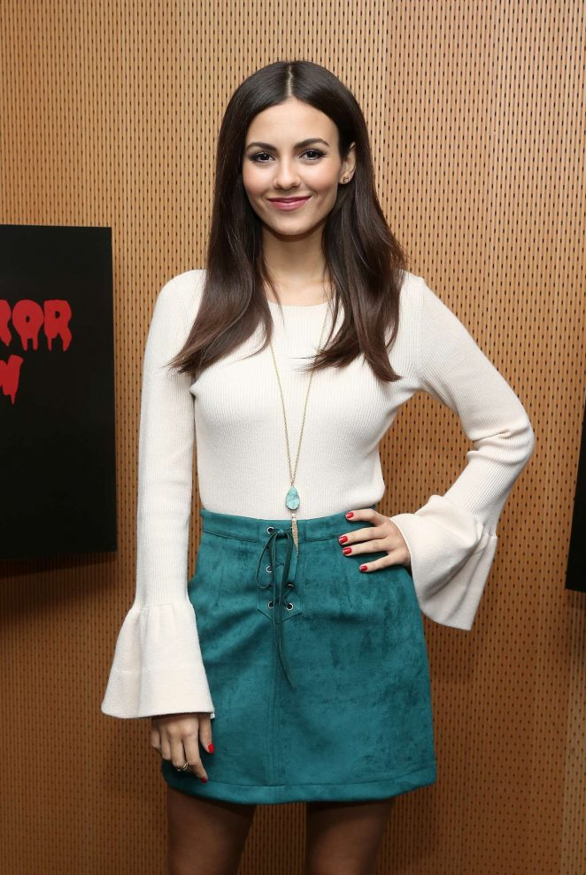 Victoria Justice - 'The Rocky Horror Picture Show: Let's Do The Time Warp Again' Photo Call in NYC