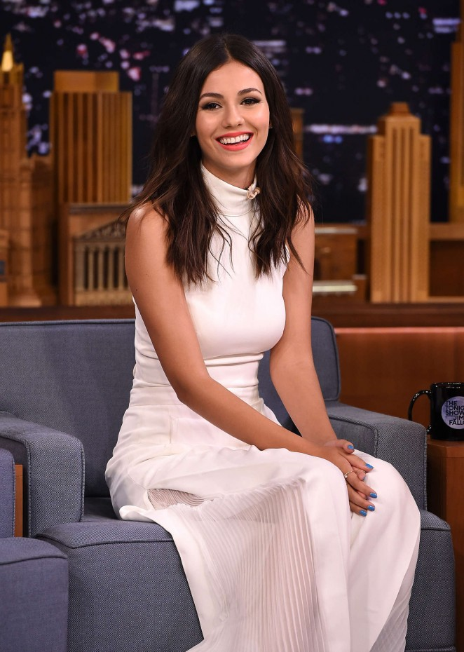 Victoria Justice - 'The Tonight Show Starring Jimmy Fallon' in NYC