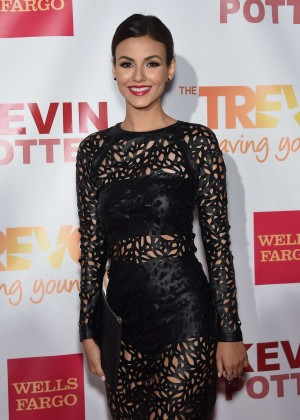 Victoria Justice - TrevorLIVE Event 2015 in New York