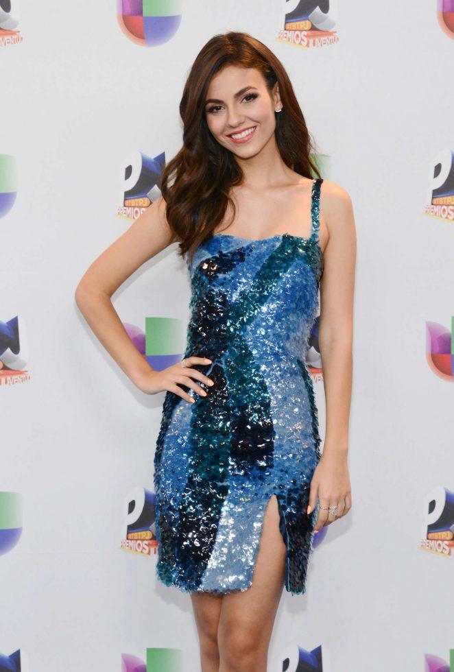 Victoria Justice - Univision's Premios Juventud in Miami