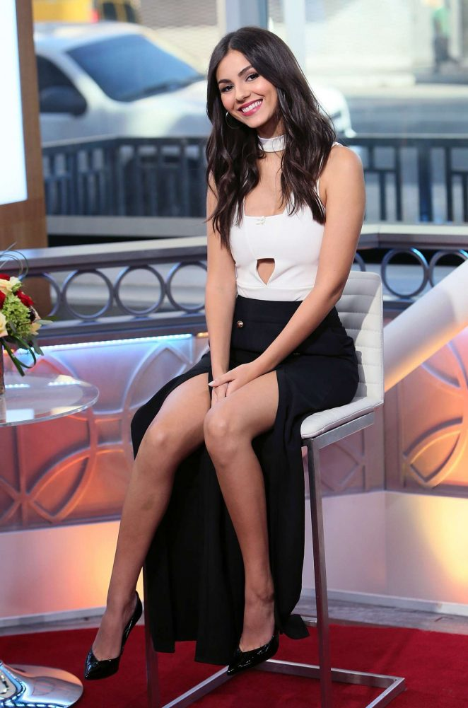 Victoria Justice - Visits Hollywood Today Live in Hollywood