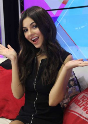 Victoria Justice - Visits Young Hollywood Studios in Los Angeles