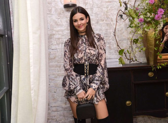 Victoria Justice - W Magazine It Girl Luncheon in New York