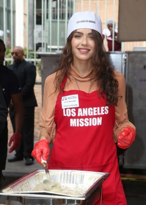 Victoria Konefal - Los Angeles Mission Thanksgiving Meal for the Homeless