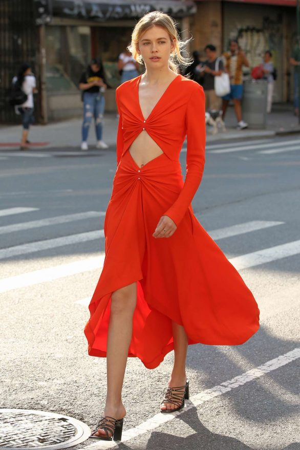 Victoria Lee - Attends Dion Lee SS20 Fashion Show in New York
