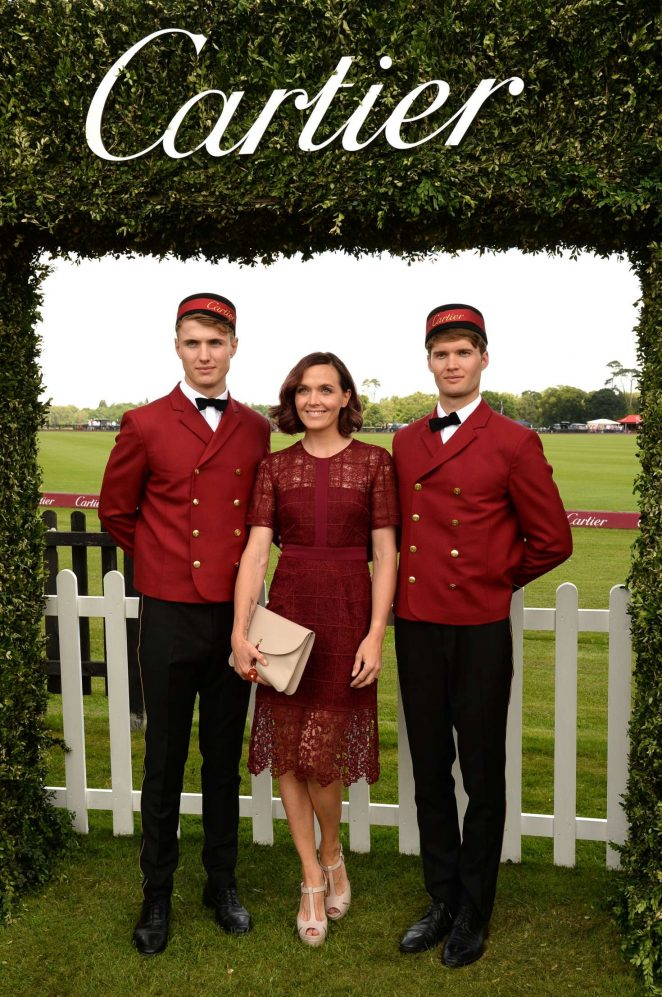 Victoria Pendleton: Cartier Queens Cup Polo Final -06