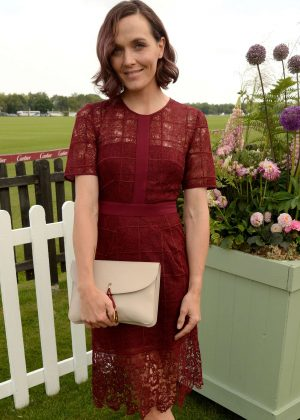 Victoria Pendleton - Cartier Queen's Cup Polo Final in Surrey