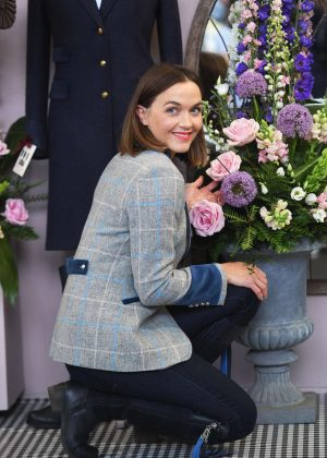 Victoria Pendleton - Chelsea Flower Show in London
