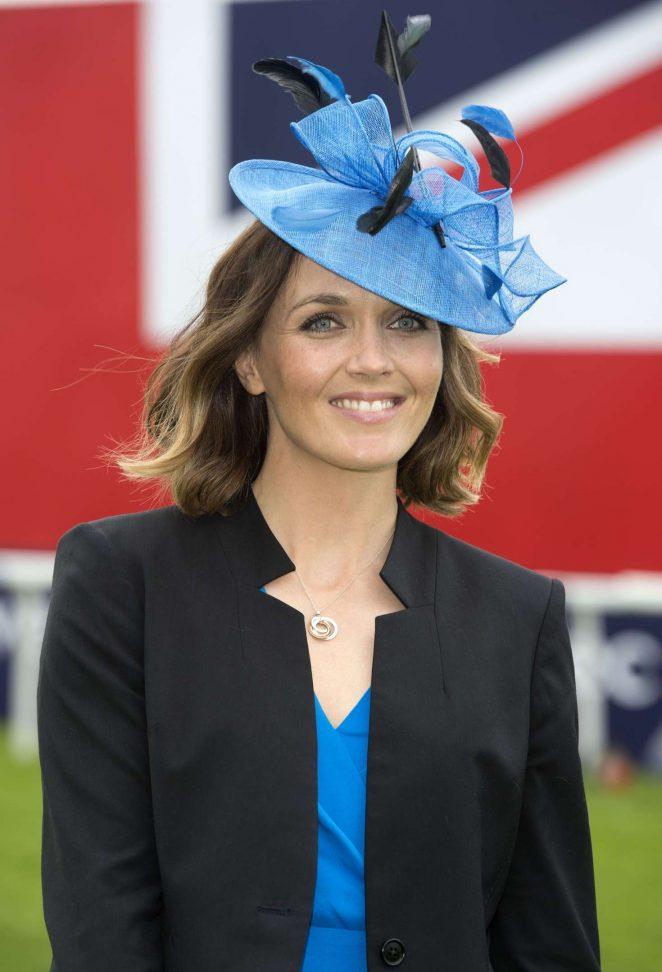 Victoria Pendleton - Investec Derby Ladies Day 2016 in London