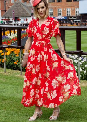 Victoria Pendleton - The Moet and Chandon July Festival Day 1 at Newmarket Racecourse