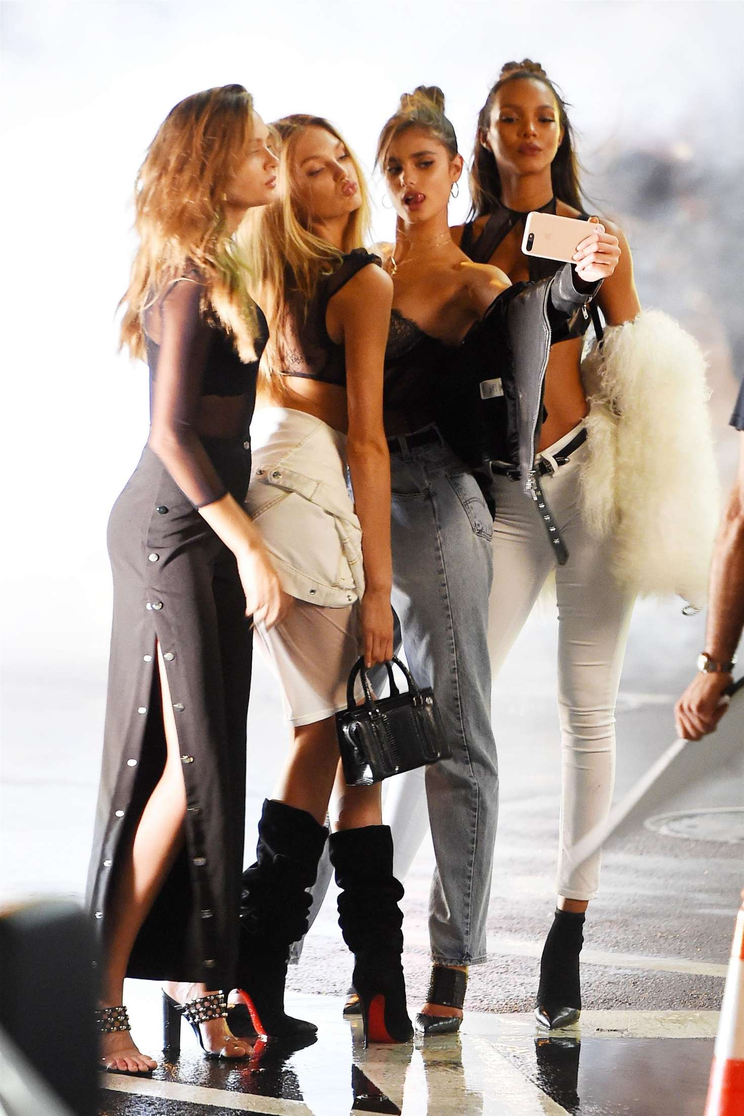Victoria's Secret Angels Shooting in NY