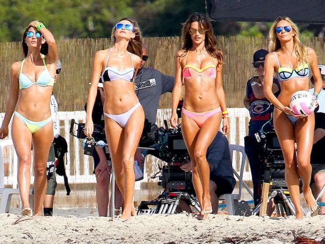 Alessandra Ambrosio: Bikini Photoshoot 2015 -01