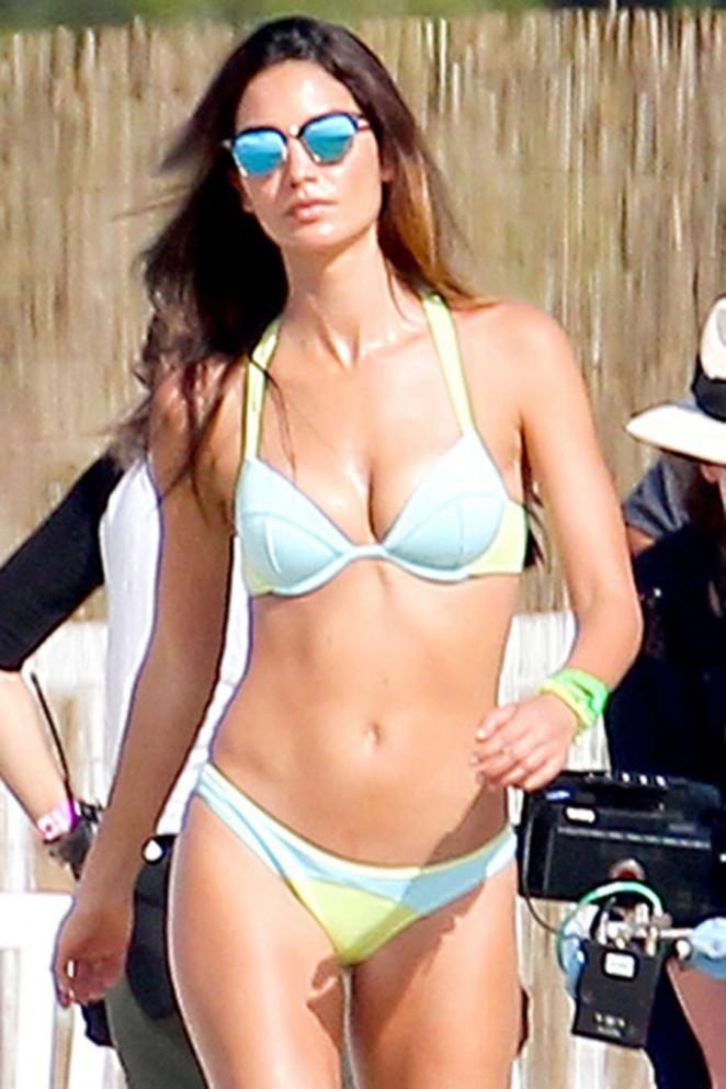 Alessandra Ambrosio: Bikini Photoshoot 2015 -03