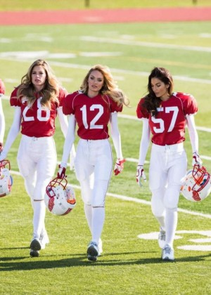 Victoria's Secret Angels Star in Super Bowl Commercial 2015