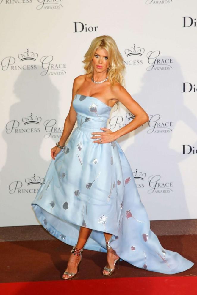 Victoria Silvstedt - 2015 Princess Grace Awards Gala in Monaco