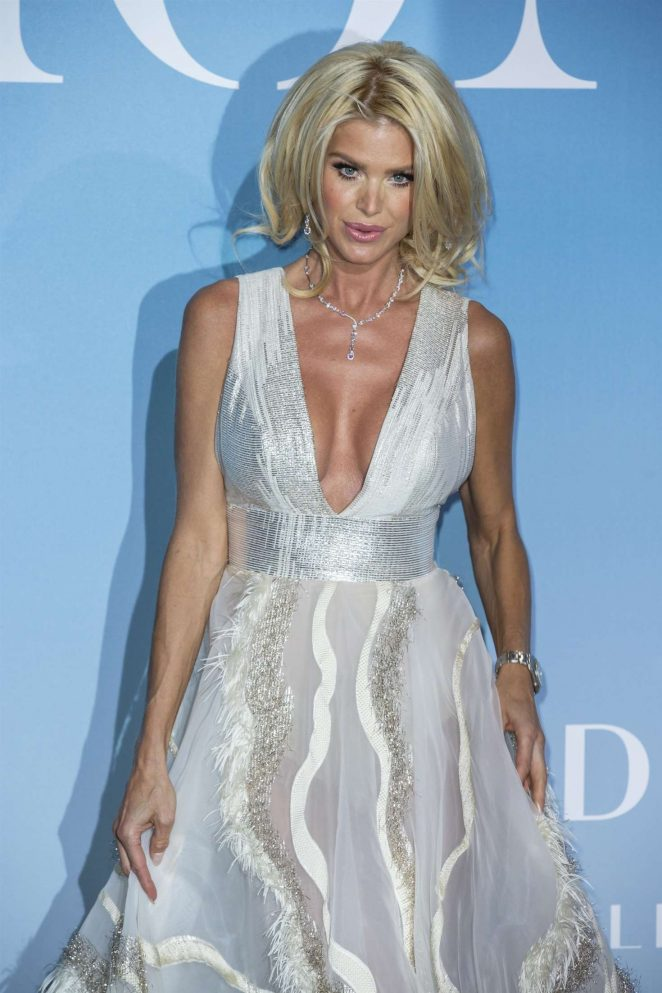 Victoria Silvstedt – 2018 Gala for the Global Ocean in Monte-Carlo